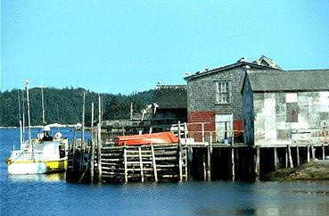 Fishing Pier, Nova Scotia