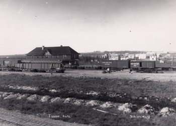 Grand Trunk Pacific Railway Station, 1911