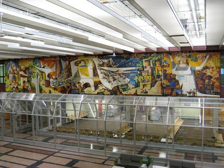 Gander Airport Mural