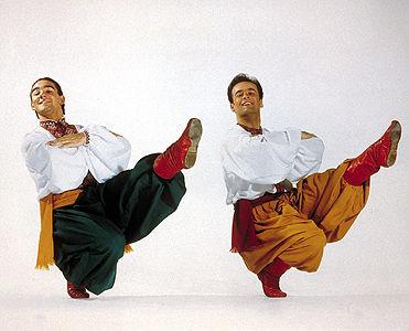 Troupe des Ukrainian Shumka Dancers