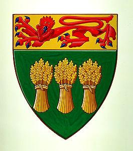 Saskatchewan, armoiries de la