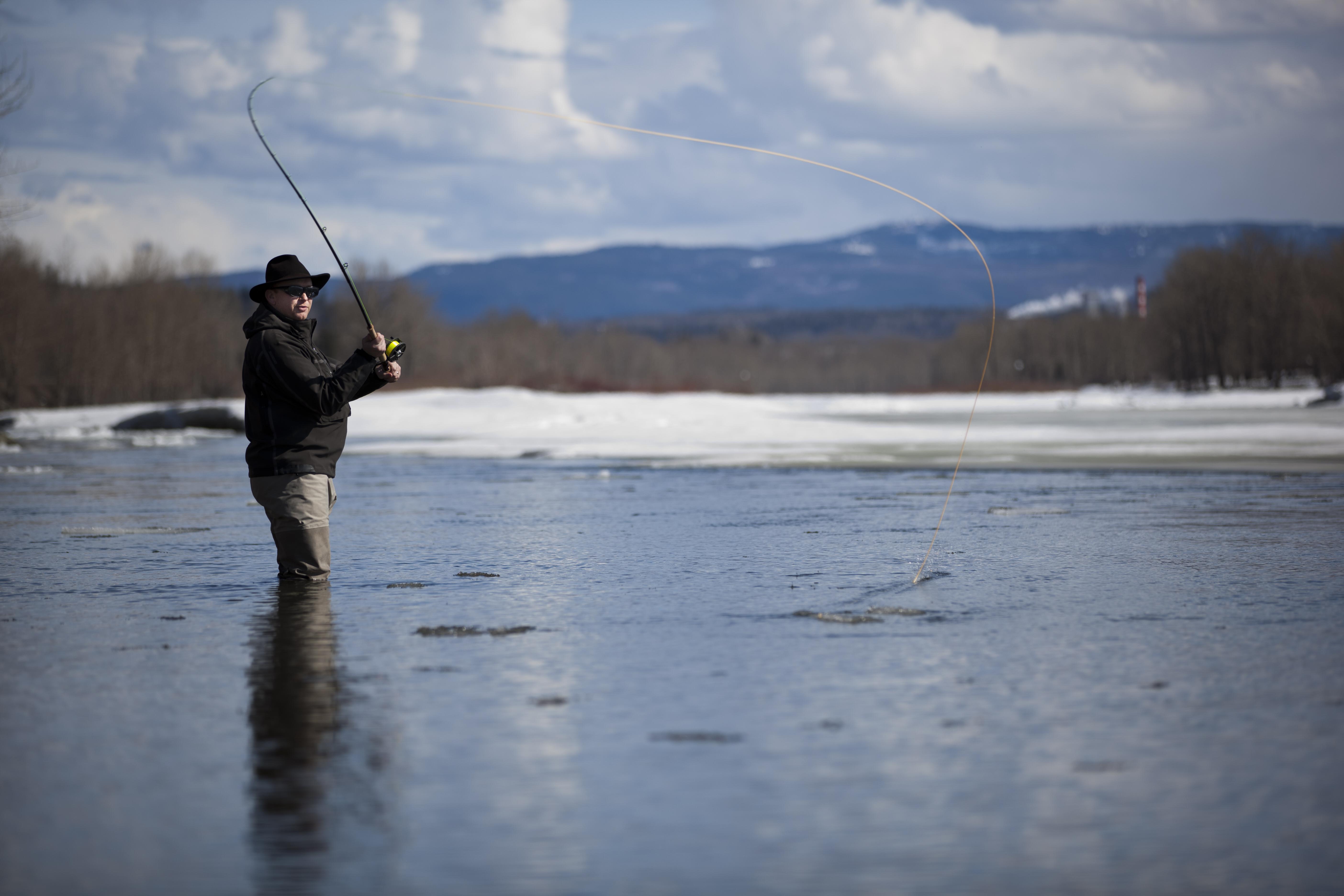 Fishing on the Nechako River