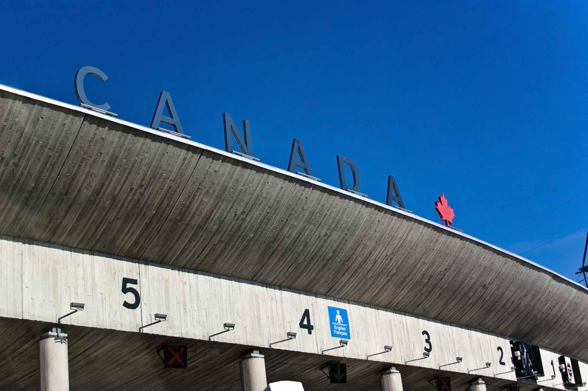 Frontière canadienne