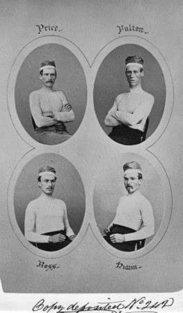 Members of the Paris Crew, 1871