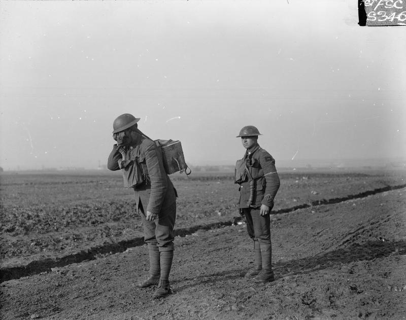 Tumpline, First World War