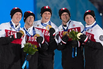Men's Curling Team 2014