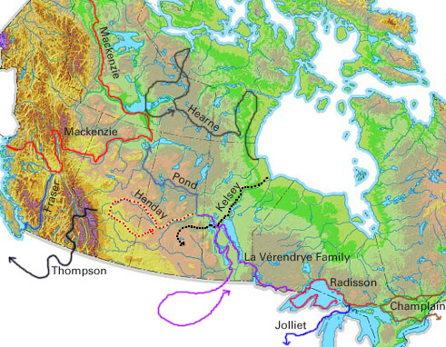 Exploration, Western Interior