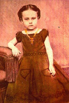 E. Pauline Johnson as a child