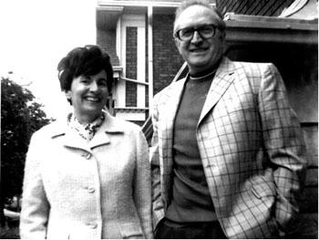 Elinore et Lou Siminovitch