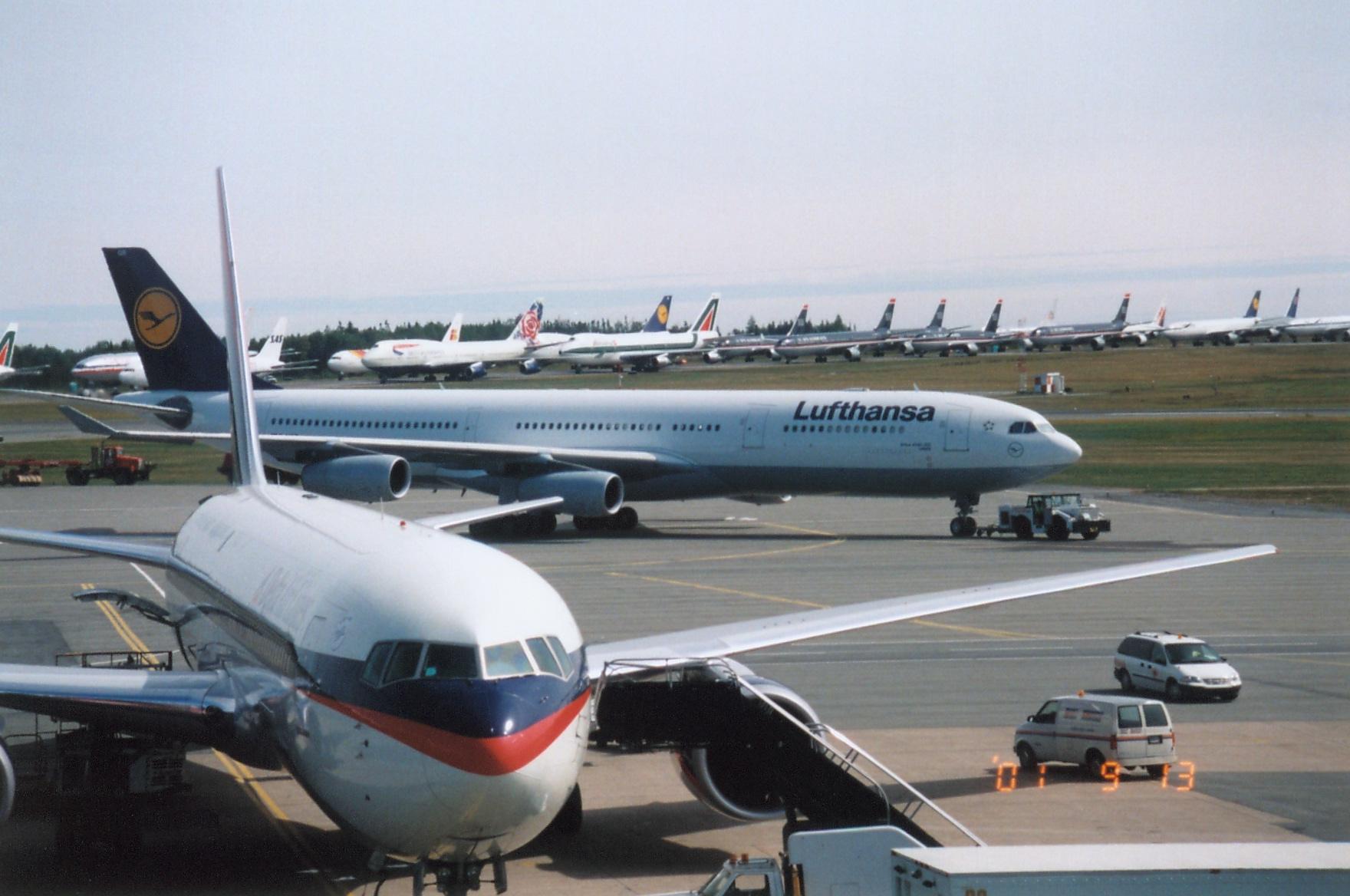 Diverted Aircraft, September 11, 2001