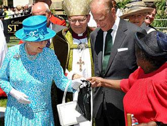 Royal Visit to St James