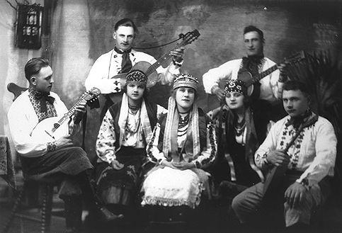 Ukrainiens, artistes
