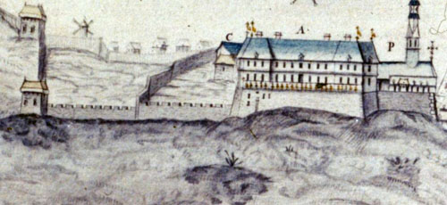 Le château Saint-Louis
