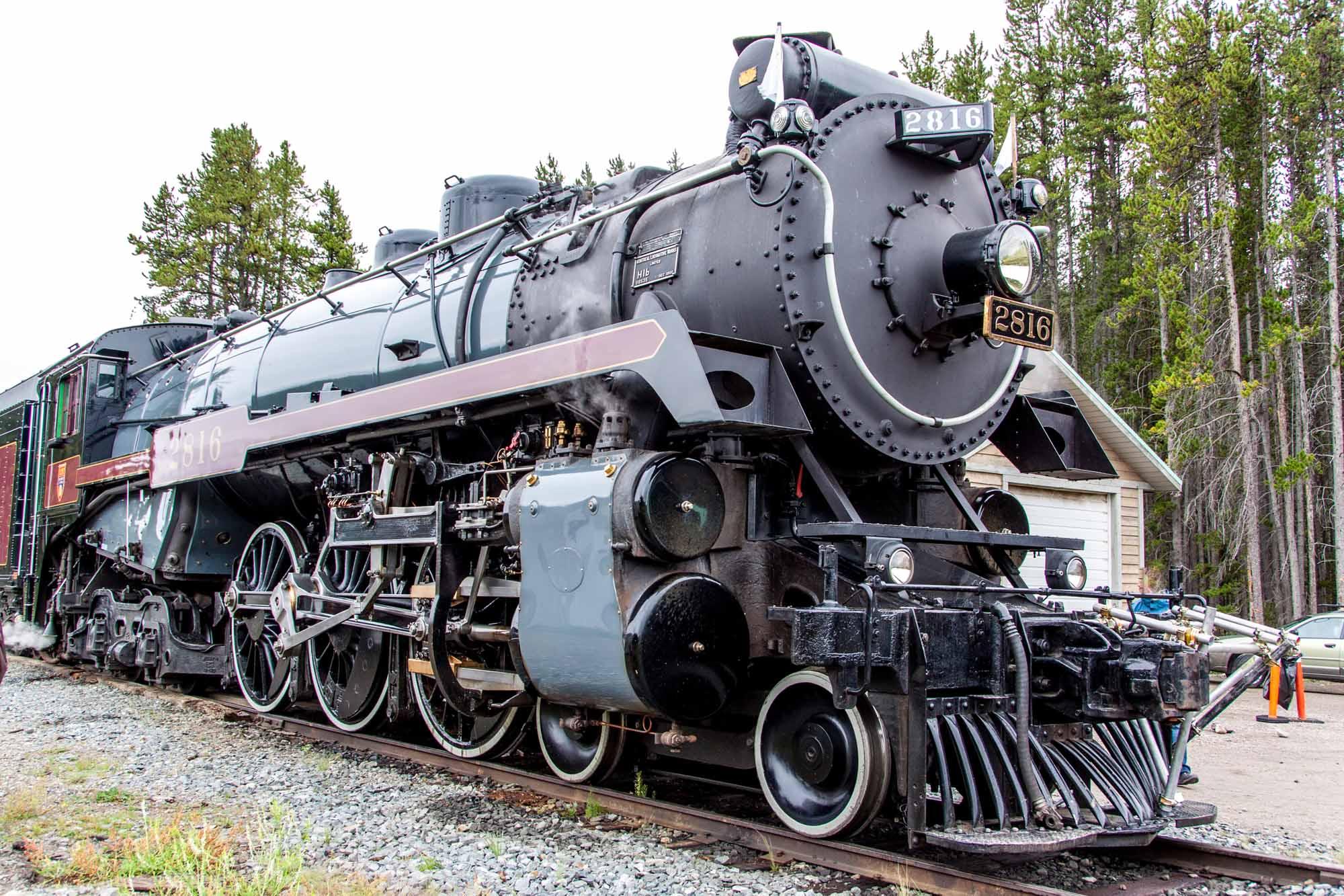Train à vapeur du Canadien Pacifique