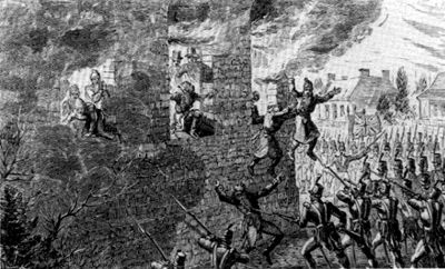 Battle of Saint-Eustache