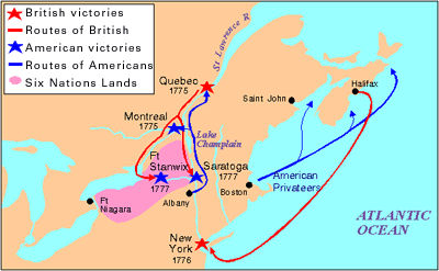 American Revolution – Invasion of Canada | The Canadian Encyclopedia