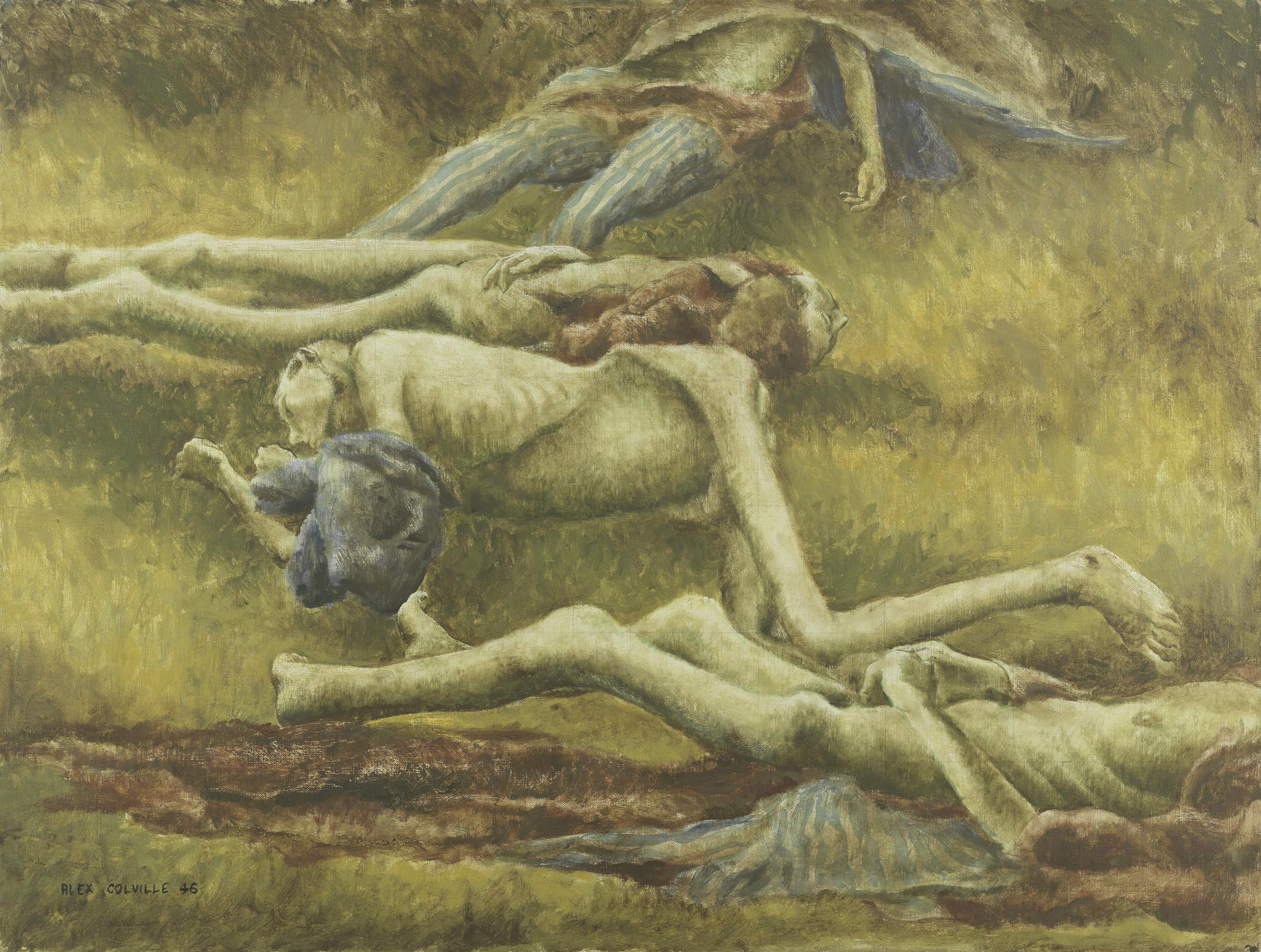 Corps dans une tombe, Belsen