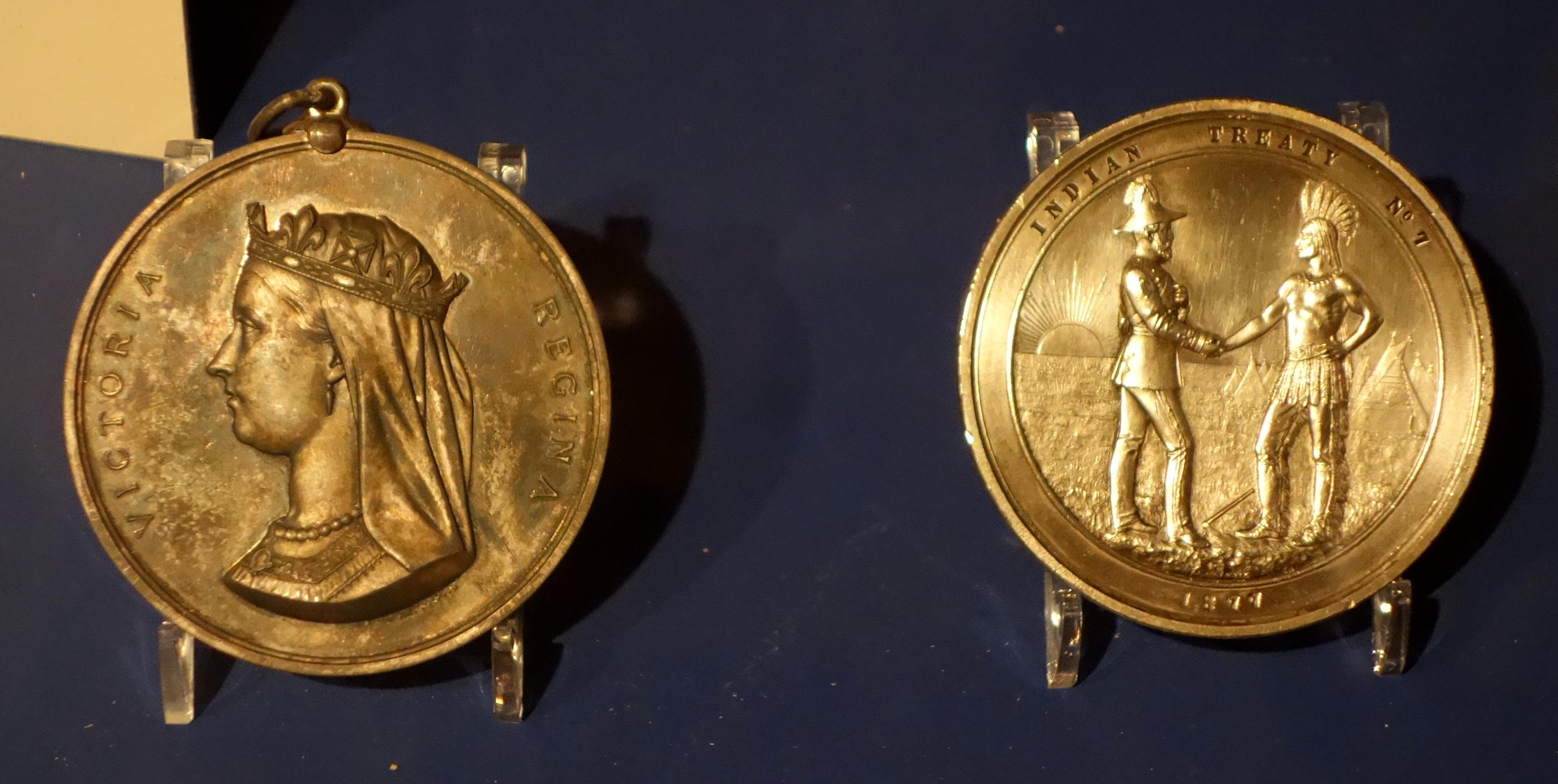 Medals, Treaty 7