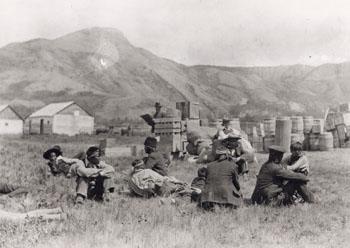 Traders at Fort St John