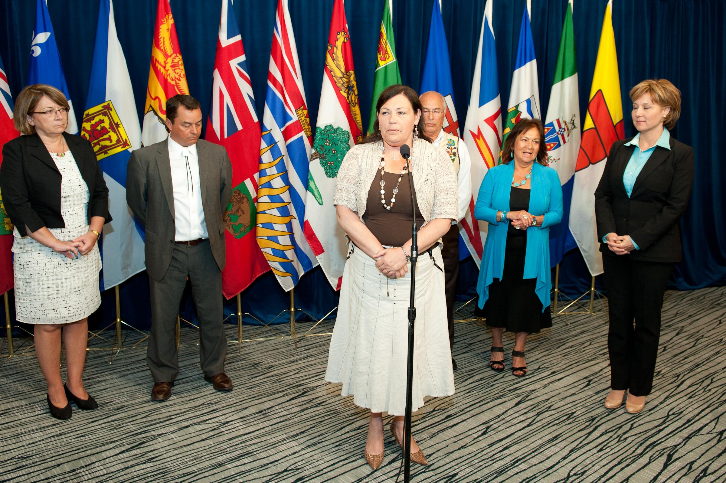 Congrès des Peuples autochtones, 2011