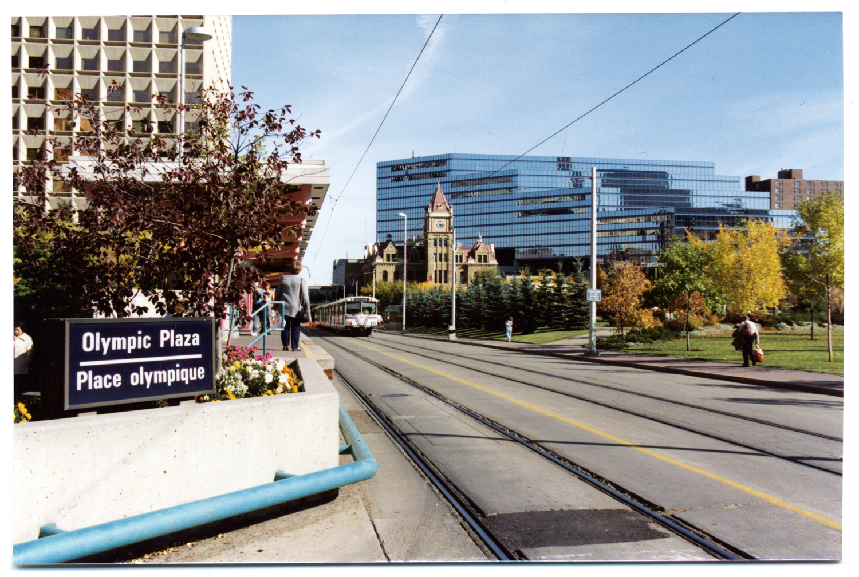 Olympic Plaza Station, Calgary CTrain