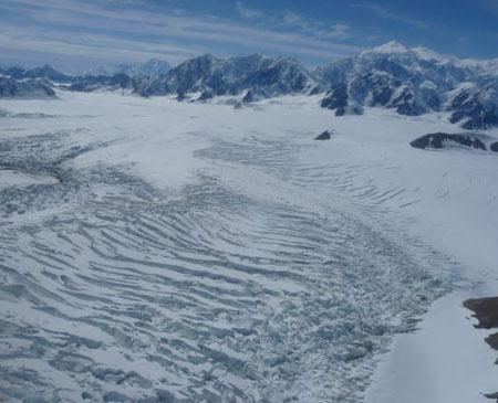Upper Hubbard Glacier