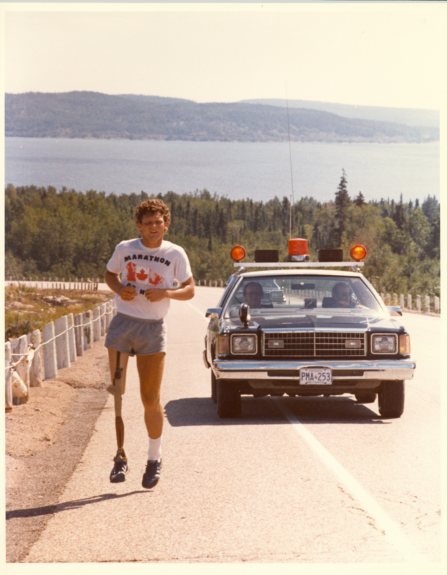 Terry Fox on the Road
