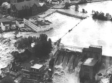 Inondations du Saguenay