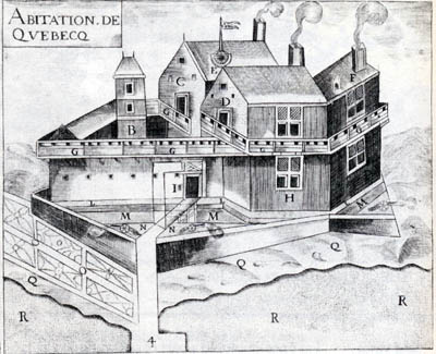 Champlain et la fondation de Québec