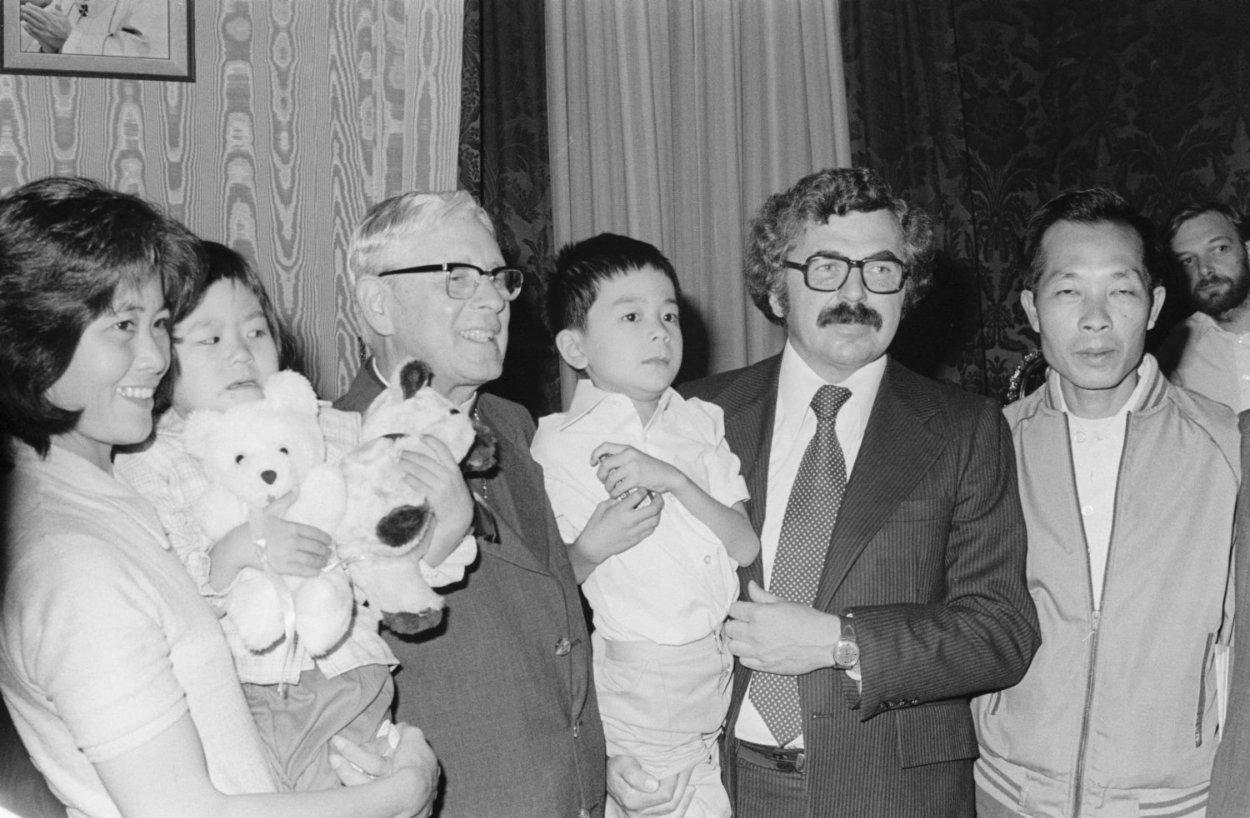 Vietnamese refugees in Québec