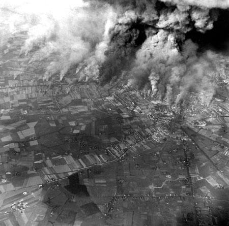 Bombing at Caens, France