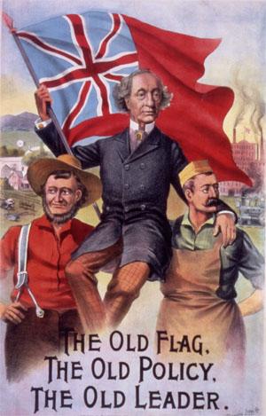 Affiche de la campagne de Macdonald