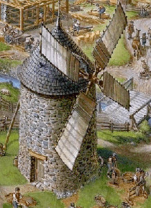New France (Detail 3)