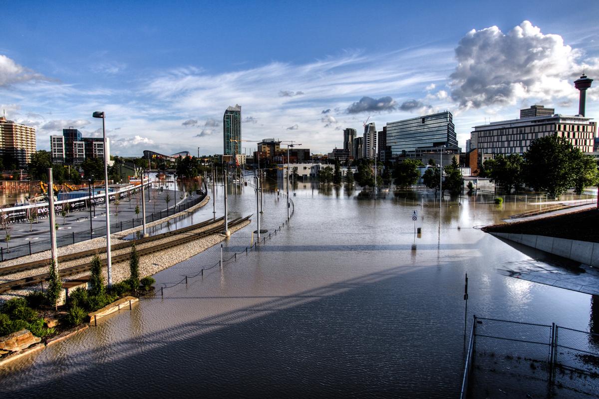 Inondations \u00e0 Calgary