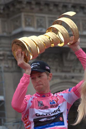 Ryder Hesjedal, cyclist