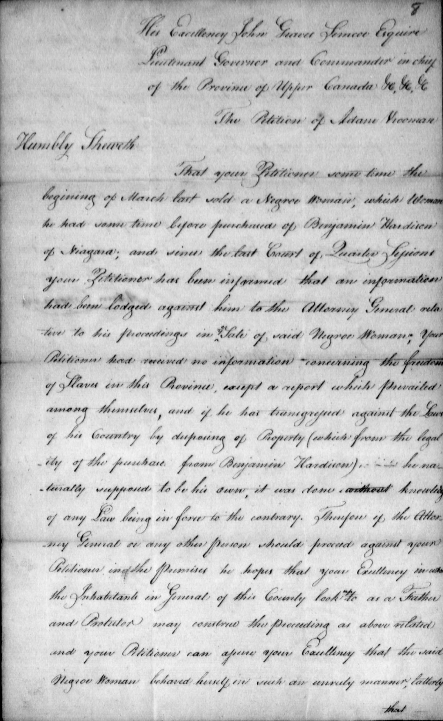 Upper Canada Land Petitions (1763-1865)