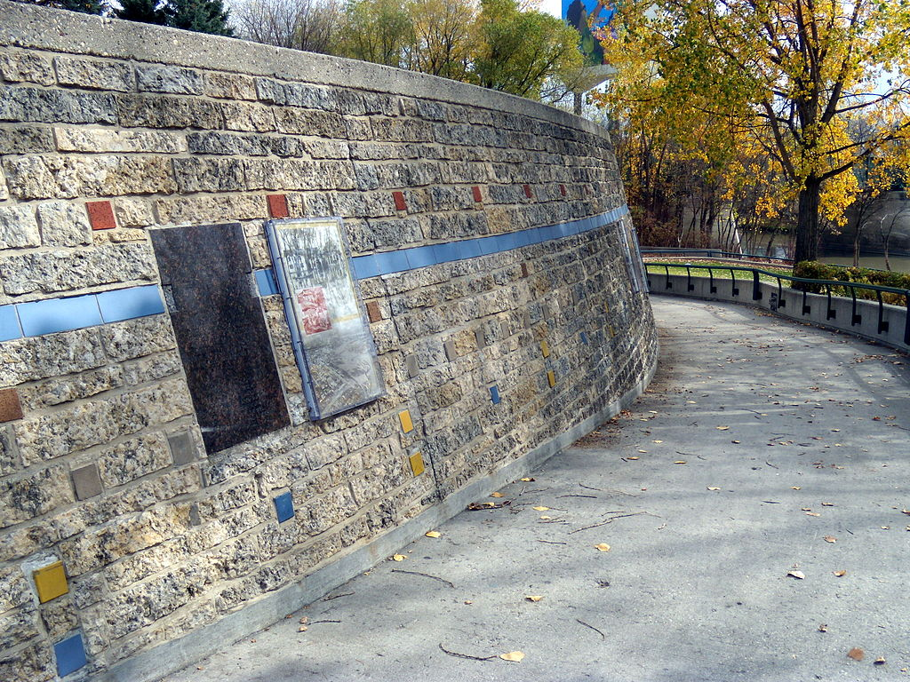 Wall Through Time at the Forks, Winnipeg
