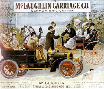 Société automobile McLaughlin, affiche de la