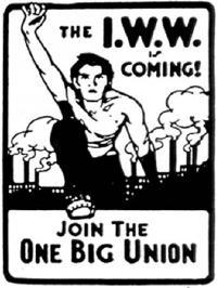 Affiche One Big Union, c. 1910.
