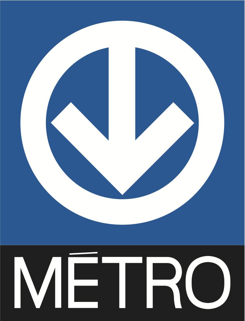Logo du métro de Montréal