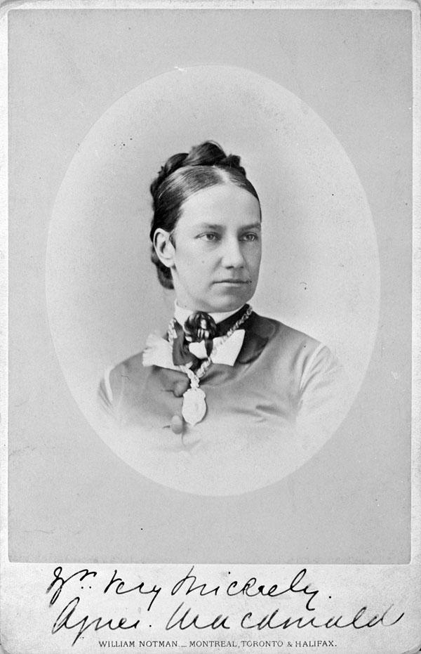 Lady Susan Agnes Macdonald