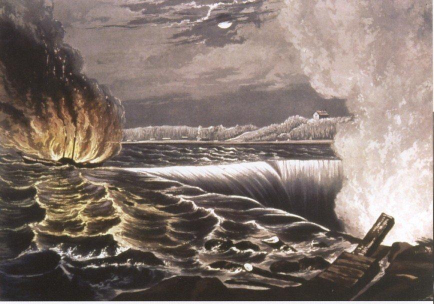 Destruction of the Caroline