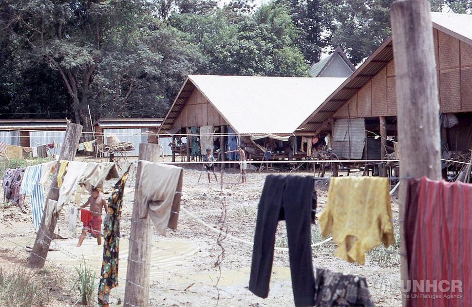 Cambodian refugees, Aranyaprathet, Thailand