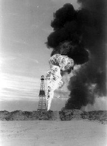 Découverte de pétrole à Leduc