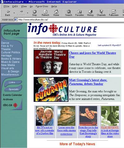 World Wide Web Page