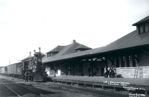 Canadien Pacifique, gare ferroviaire du