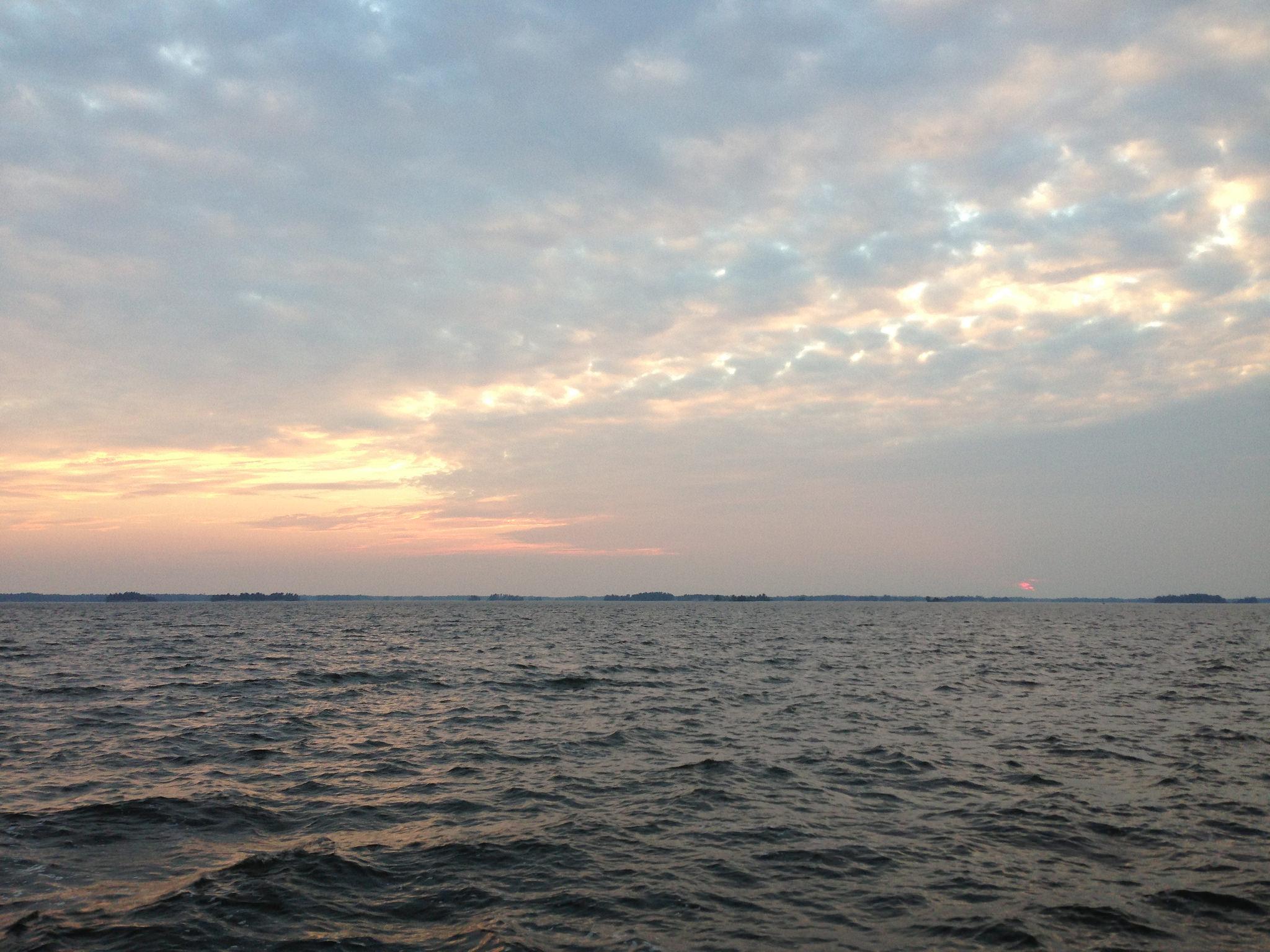 Sunset on Lake Nipissing