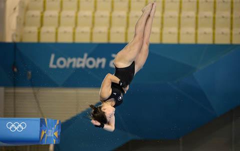 Roseline Filion, diver