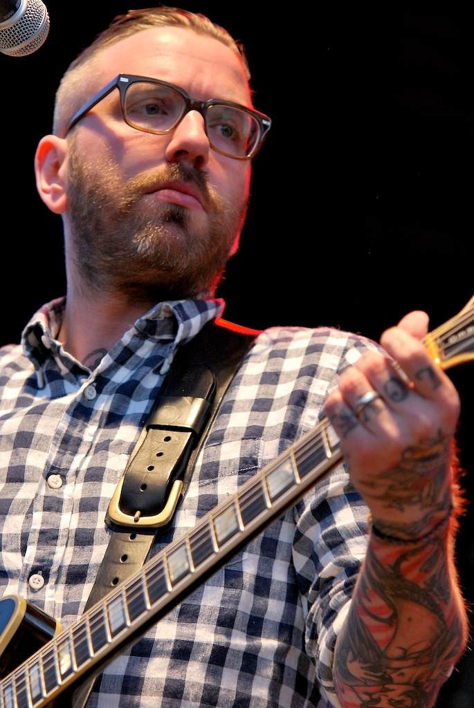 Dallas Green performing as City and Colour