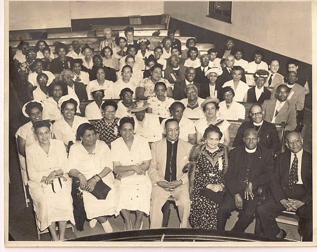 Congregation Stewart Memorial Church 1940s